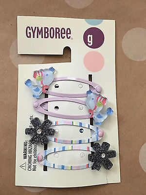 NWT Gymboree EUROPEAN HOLIDAY Hair Clips & Ponies