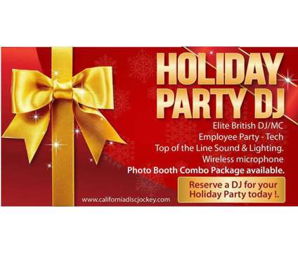 Bay Area Holiday Party DJ
