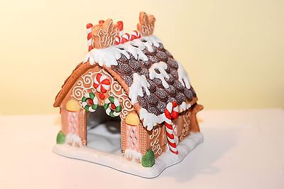 NIB Partylite Gingerbread House Tealight Candle Holder P7304 Retired
