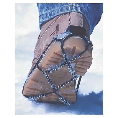 Yaktrax Walk 08603 Spikeless Ultra Light Over Boot/Shoe Traction Device, Thermal