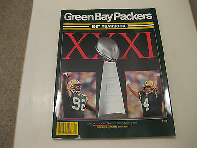 Green Bay Packers 1997 Yearbook.. SEALED CASE OF 50!!  PERFECT!