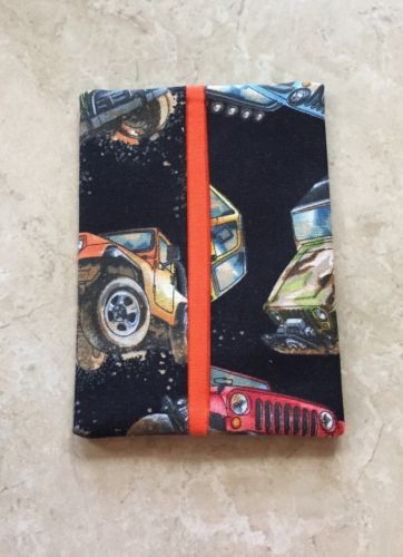 Muddy Jeep Fabric Handmade Purse Tissue Holder