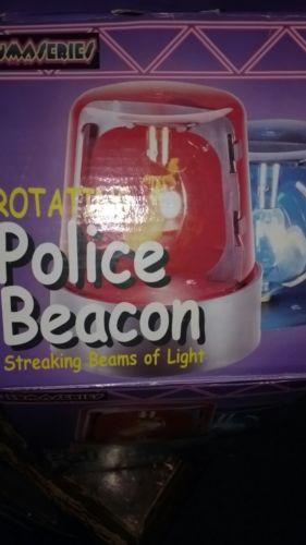 police beacon light