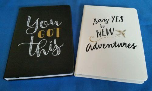 Journals Lined Black & White