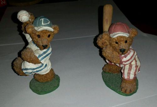 Home Interior Bear Figurines set of 2