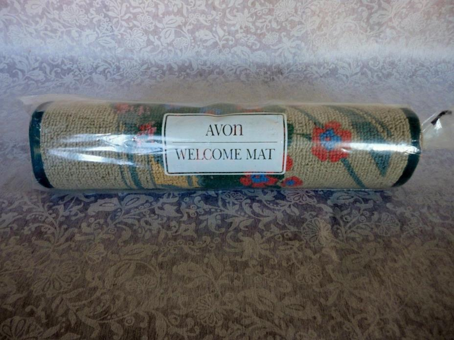 VINTAGE  AVON WELCOME MAT - NEW IN PKG