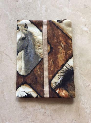 Horse Fabric Kleenex Tissue Holder for Purse or Pocket-Handmade