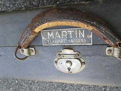 VINTAGE '20s-30s MARTIN Alto Saxophone Sax HARDSHELL CASE! JAZZ AGE RELIC!