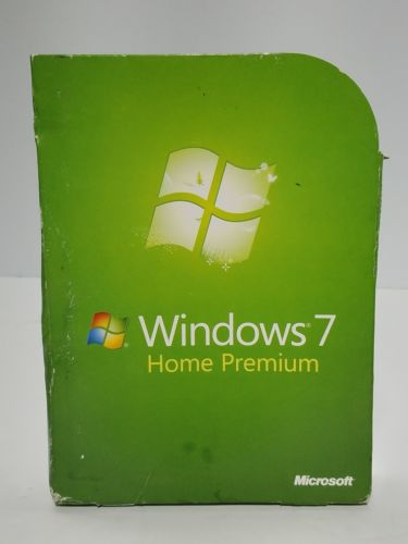 Microsoft Windows 7 Home Premium 32 & 64 Bit Disks