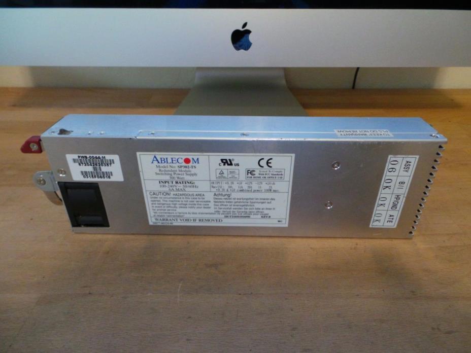 Ablecom SP302-TS Redundant Module Switching Power Supply 300 Watt