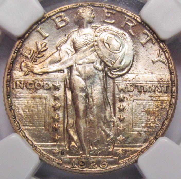 1926 D Standing Liberty Quarter NGC MS-61 Full Head