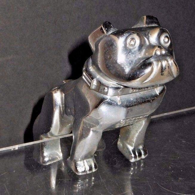Original Mack Truck Hood Ornament Mascot - w/ Design Patent #87931