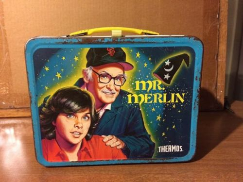 Mr. Merlin 1981 Lunchbox