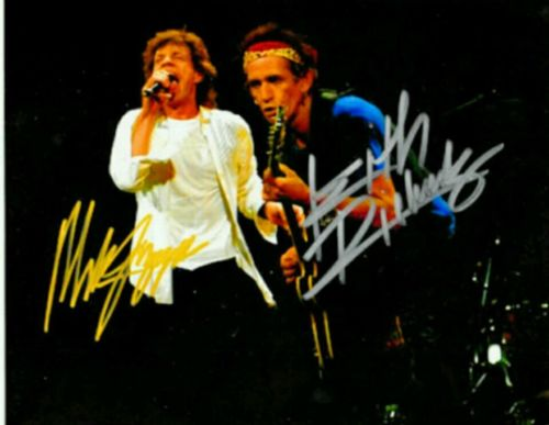 Rolling Stone Autograph Photo 8×10 RP