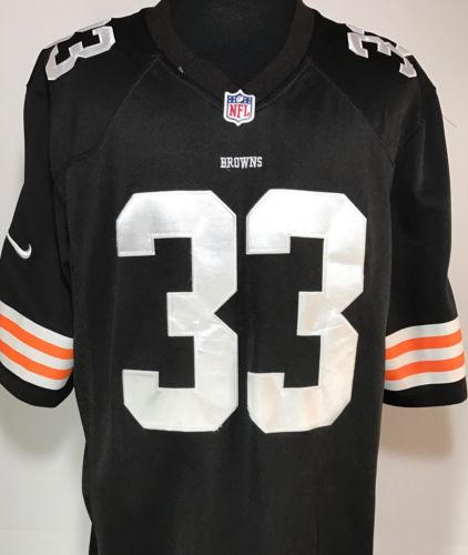 Cleveland Browns Trent Richardson #33 NFL Stitched Nike Football Jersey Men's XL