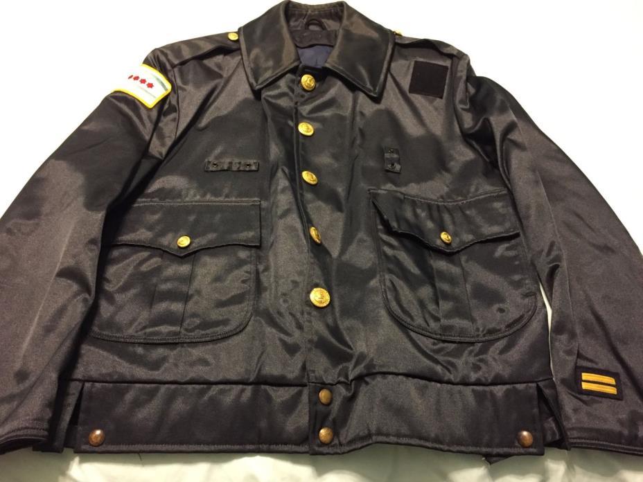 chicago police vintage spring/summer jacket