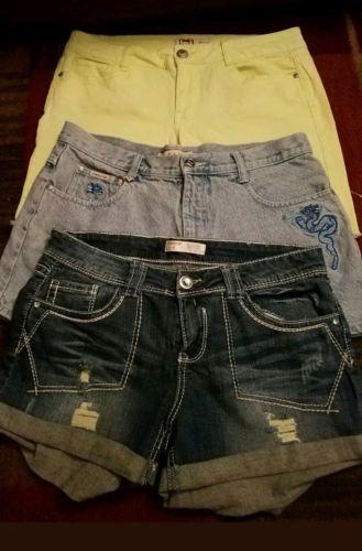 Women's size 13 shorts mixed  lot