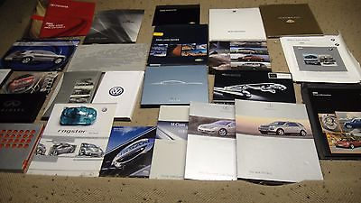 29 2005 Auto Show Press Kits MB, Maybach, Porsche, Audi, Jaguar, BMW, Mini, VW