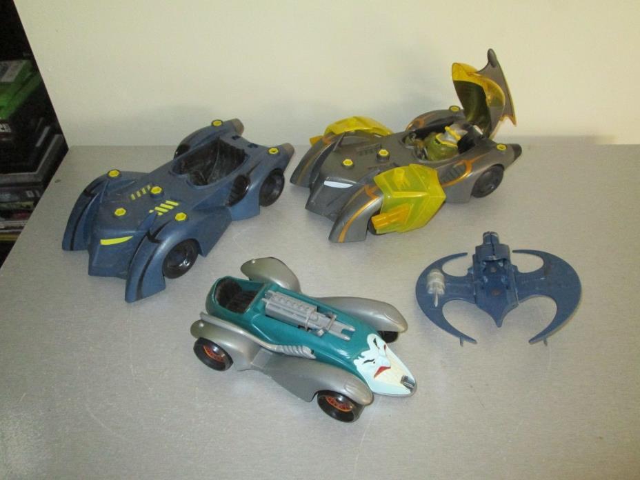 Nice Lot of Batman Toys Batmobiles