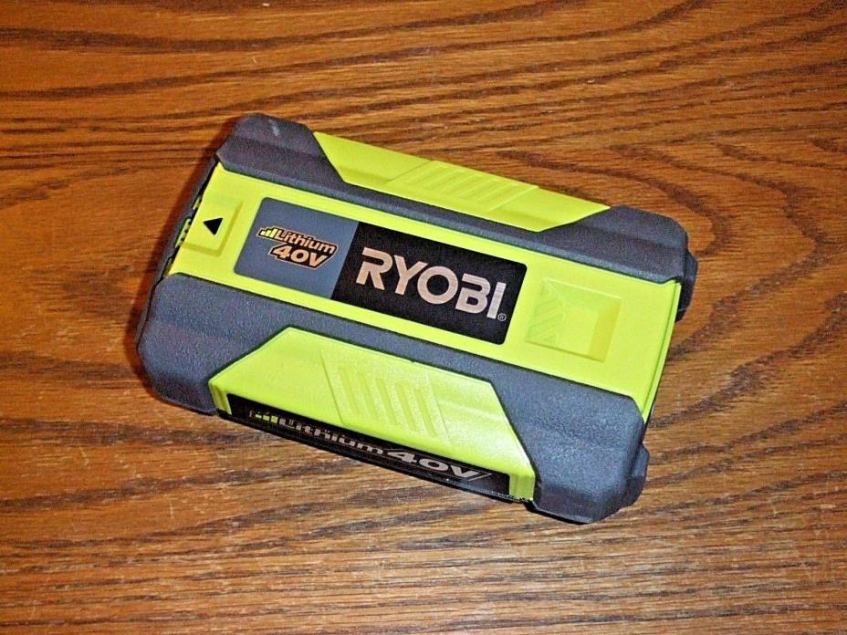 RYOBI OP4015 40 VOLT LiIon BATTERY BRAND NEW OUT OF ORIGINAL PACKAGING FROM KIT