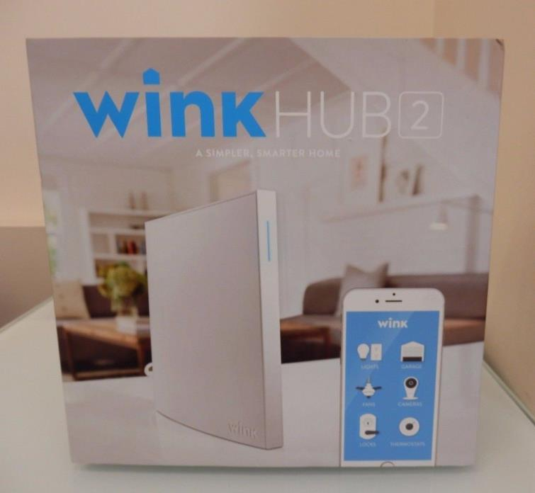 Wink Hub 2 - A Simpler Smarter Home - Brand New  -Free Priority Shipping