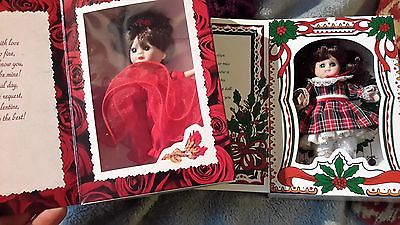 NICE LOT OF 2 MARIE OSMOND SMALL DOLLS -MINT-VALENTINES & CHRISTMAS