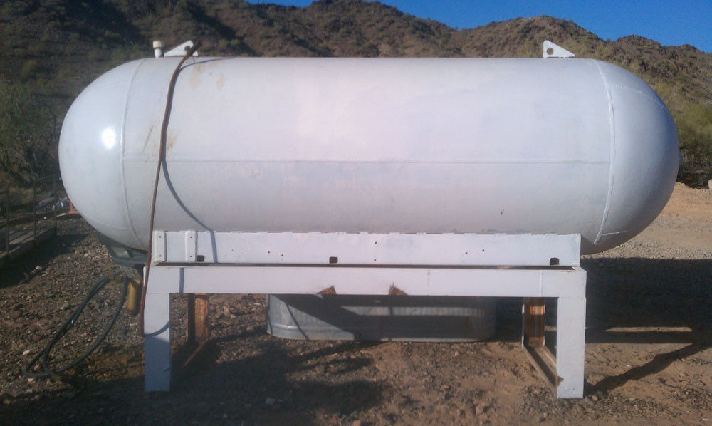 1300 Gallon Fuel Tank stand, mining, diesel