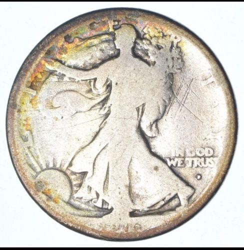1916-D Walking Liberty Half Dollar