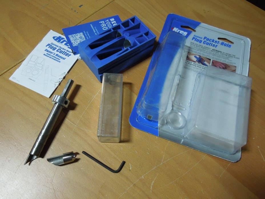 Broken Bit KREG Pocket Hole Plug Cutter System