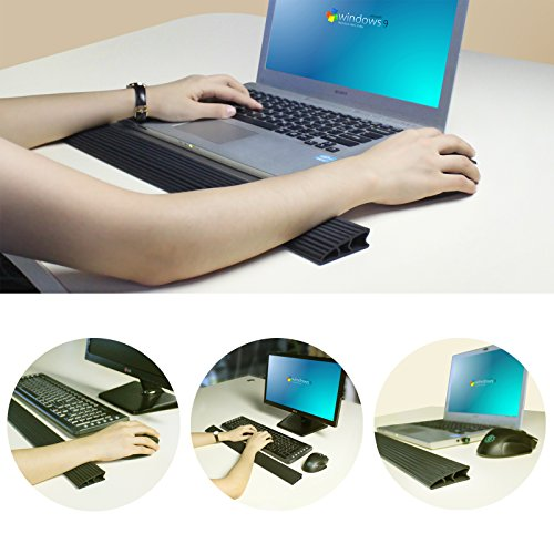 Rxmoo Wrist Rest Pad - Computer Keyboard And Mouse Wrist Support Cushion For