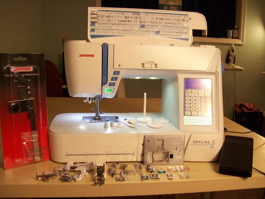 JanomeS5 Computerized Sewing Machine