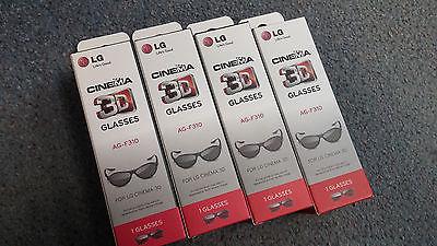 NEW MIB LG Passive 3D Glasses 4 Pair AG-F310  AGF310