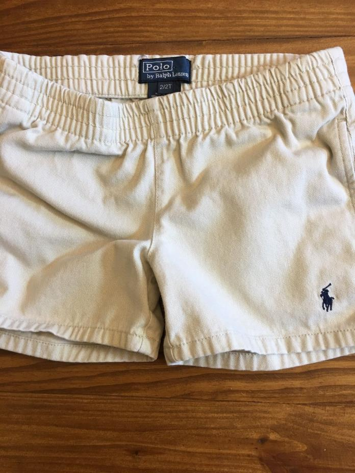 Baby Boy Shorts Lot of 3 Polo, Carters, and Gymboree Brands Size 6-12 mo. to 2T