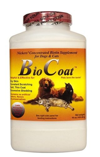 Bio-Coat 16 oz for Dogs and Cats by Nickers International