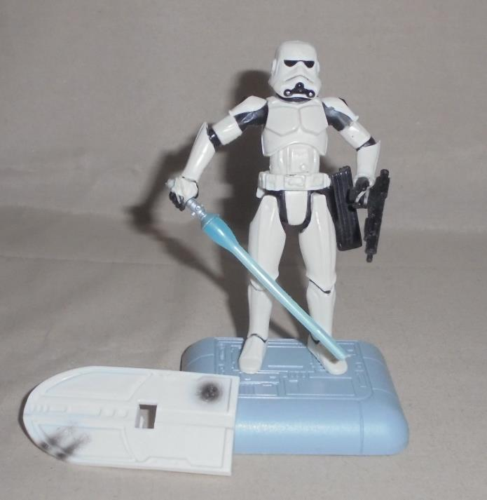 Star Wars 2003 Fans Choice McQuarrie Concept Stormtrooper Figure COMPLETE
