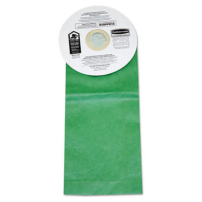 Rubbermaid Commercial Vacuum Bags for Rubbermaid Backpack Vacuum Cleaners Paper