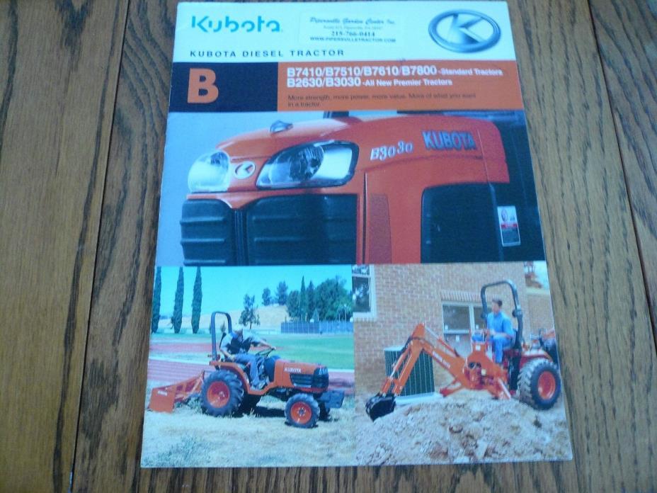Kubota B - For Sale Classifieds