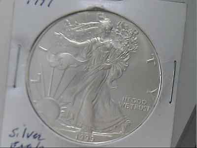 1999  $1 Silver Eagle Unc.