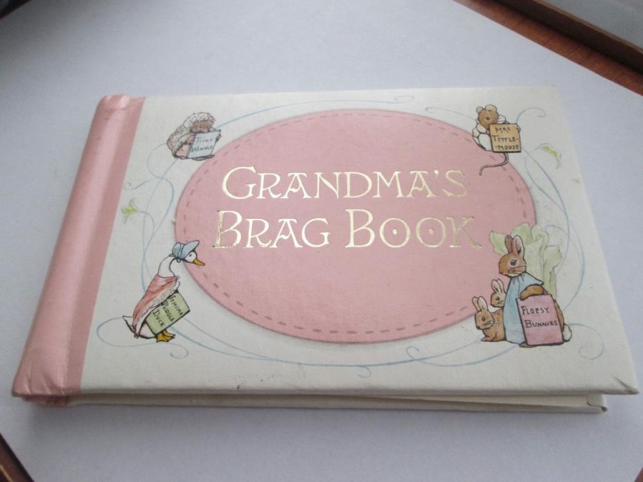 Gibson New Vintage Beatrix Potter Grandma/'s Brag Book Album Peter Rabbit C.R