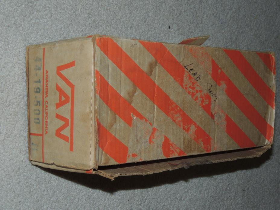 Vans Original Vintage 1960's 1970's Empty Shoe Box