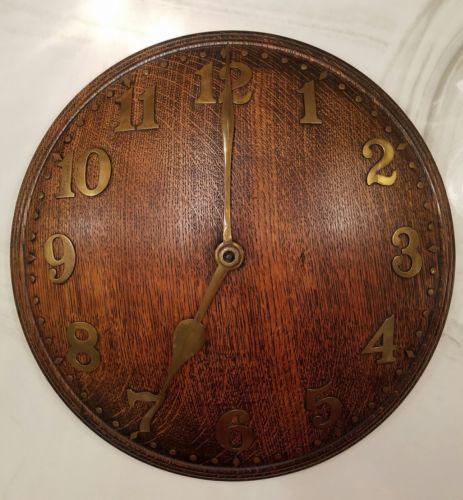 Art Deco Rare Zenith Convex Wall Clock ca 1930