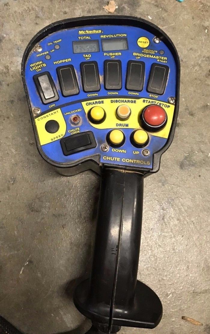 McNeilus Chute Controls mixer truck remote  pendant controller