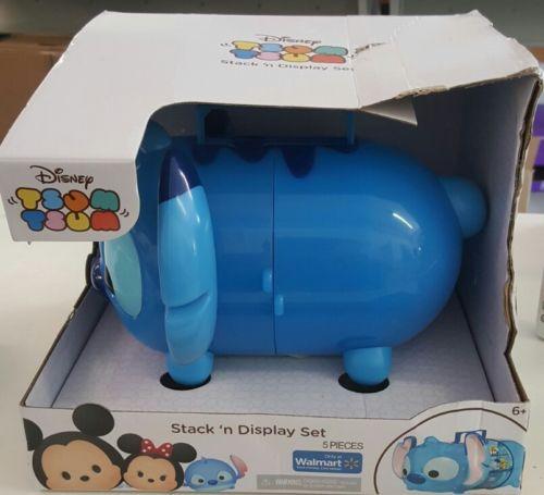 Tsum Tsum  Disney Stitch Stack 'n Display Set. New, box has some transit wear.