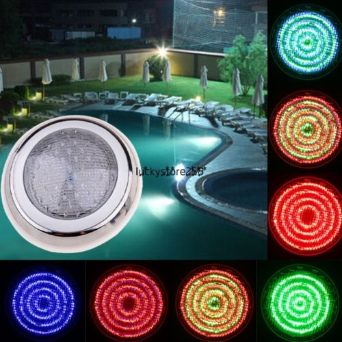 Led Swimming Pool Light RGB Multi-color 12V Sealing Fountains Lamp Underwater