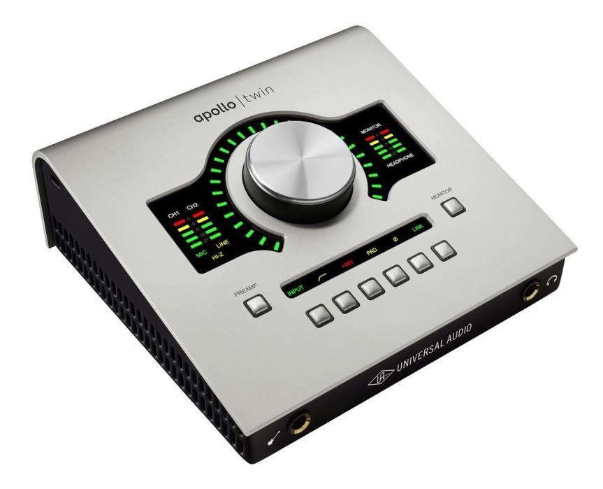 Universal Audio Apollo Twin DUO Thunderbolt Interface