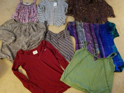 Womens Designer Clothing Lot Size Large Anthropologie Lucky Brand Express