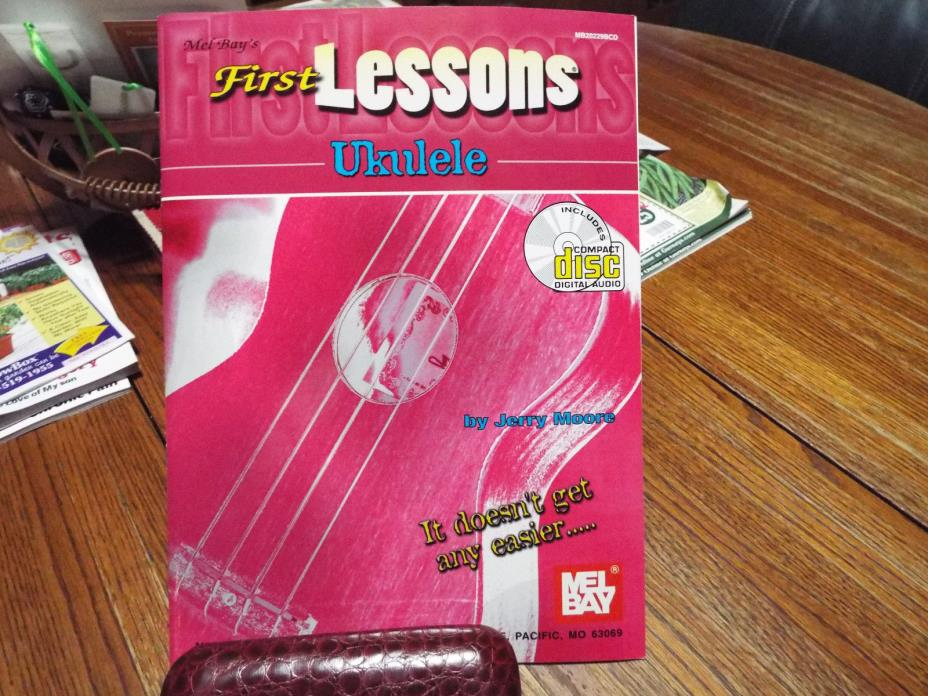 ukulele lessons book with CD