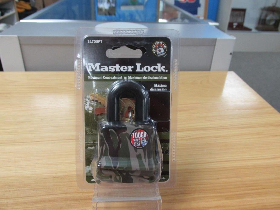 New Sealed: Master Lock Laminated Steel Pin Tumbler Padlock Camouflage ~703234~