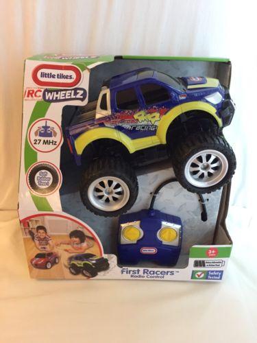 Little Tikes RC Wheelz First Racers Radio Controlled Truck NIB