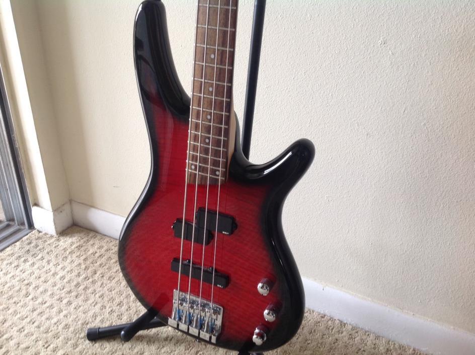 Ibanez SR300FM SoundGear 4 String Bass Guitar